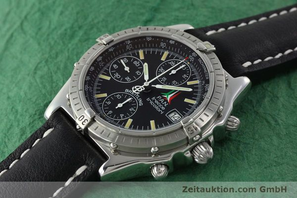Used luxury watch Breitling Chronomat chronograph steel automatic Kal. B13 ETA 7750 Ref. A13050.1  | 142054 01