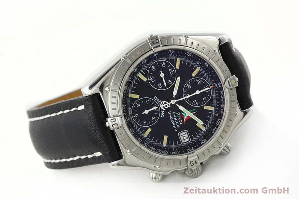 Used luxury watch Breitling Chronomat chronograph steel automatic Kal. B13 ETA 7750 Ref. A13050.1  | 142054 03