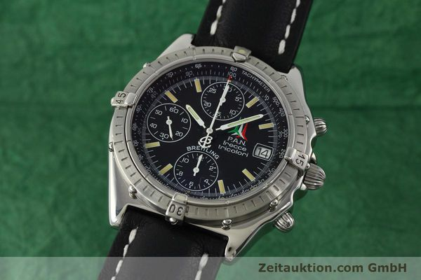 Used luxury watch Breitling Chronomat chronograph steel automatic Kal. B13 ETA 7750 Ref. A13050.1  | 142054 04