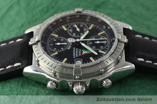 Used luxury watch Breitling Chronomat chronograph steel automatic Kal. B13 ETA 7750 Ref. A13050.1  | 142054 05