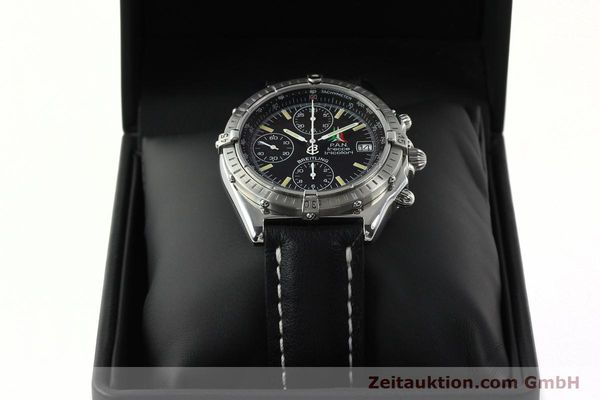 Used luxury watch Breitling Chronomat chronograph steel automatic Kal. B13 ETA 7750 Ref. A13050.1  | 142054 07