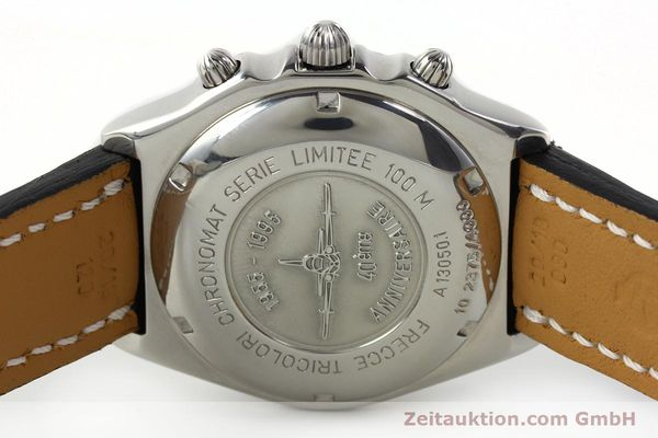 Used luxury watch Breitling Chronomat chronograph steel automatic Kal. B13 ETA 7750 Ref. A13050.1  | 142054 09