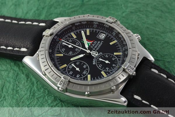 Used luxury watch Breitling Chronomat chronograph steel automatic Kal. B13 ETA 7750 Ref. A13050.1  | 142054 13
