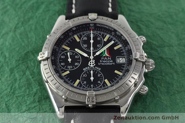 Used luxury watch Breitling Chronomat chronograph steel automatic Kal. B13 ETA 7750 Ref. A13050.1  | 142054 14
