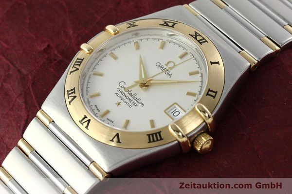 montre de luxe d occasion Omega Constellation acier / or  automatique Kal. 1120  | 142055 01
