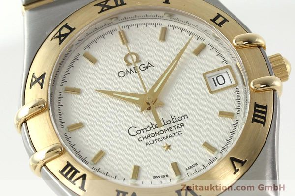 montre de luxe d occasion Omega Constellation acier / or  automatique Kal. 1120  | 142055 02