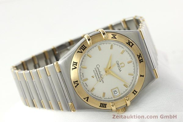 montre de luxe d occasion Omega Constellation acier / or  automatique Kal. 1120  | 142055 03