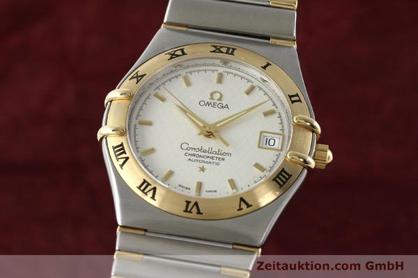 montre de luxe d occasion Omega Constellation acier / or  automatique Kal. 1120  | 142055 04