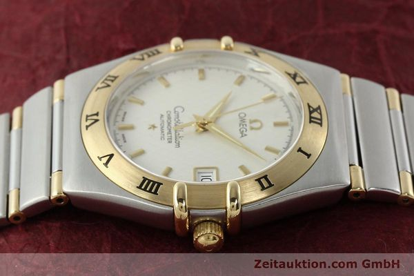 montre de luxe d occasion Omega Constellation acier / or  automatique Kal. 1120  | 142055 05