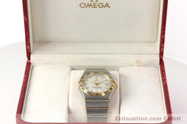 montre de luxe d occasion Omega Constellation acier / or  automatique Kal. 1120  | 142055 07