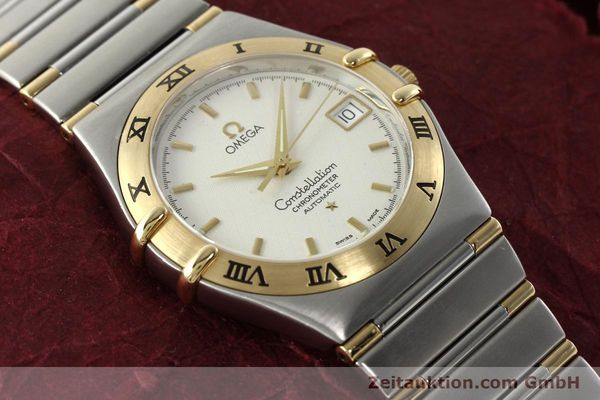 montre de luxe d occasion Omega Constellation acier / or  automatique Kal. 1120  | 142055 14