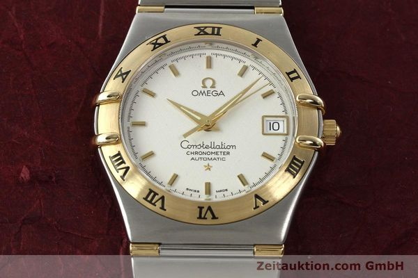 montre de luxe d occasion Omega Constellation acier / or  automatique Kal. 1120  | 142055 15