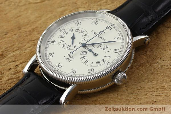 Used luxury watch Chronoswiss Tora steel automatic Kal. 123 Ref. CH1323  | 142056 01