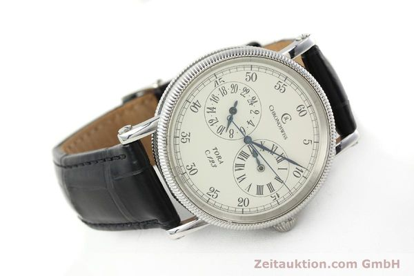Used luxury watch Chronoswiss Tora steel automatic Kal. 123 Ref. CH1323  | 142056 03