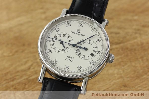 Used luxury watch Chronoswiss Tora steel automatic Kal. 123 Ref. CH1323  | 142056 04