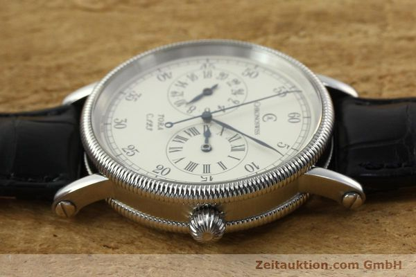 Used luxury watch Chronoswiss Tora steel automatic Kal. 123 Ref. CH1323  | 142056 05