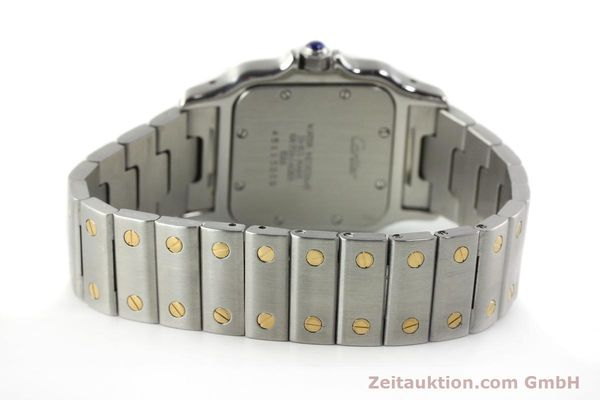 Used luxury watch Cartier Santos steel / gold quartz Kal. 687  | 142058 10