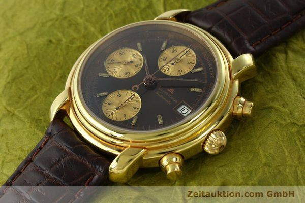 Used luxury watch Maurice Lacroix Croneo chronograph gold-plated automatic Kal. VAL 7750 Ref. 03274  | 142061 01