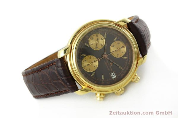 Used luxury watch Maurice Lacroix Croneo chronograph gold-plated automatic Kal. VAL 7750 Ref. 03274  | 142061 03