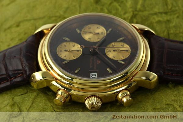 Used luxury watch Maurice Lacroix Croneo chronograph gold-plated automatic Kal. VAL 7750 Ref. 03274  | 142061 05