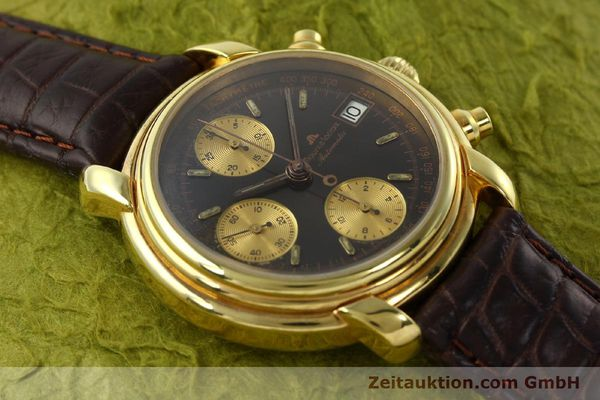 Used luxury watch Maurice Lacroix Croneo chronograph gold-plated automatic Kal. VAL 7750 Ref. 03274  | 142061 14