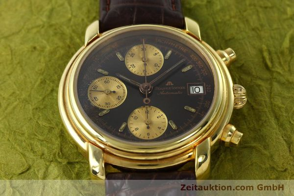 Used luxury watch Maurice Lacroix Croneo chronograph gold-plated automatic Kal. VAL 7750 Ref. 03274  | 142061 15