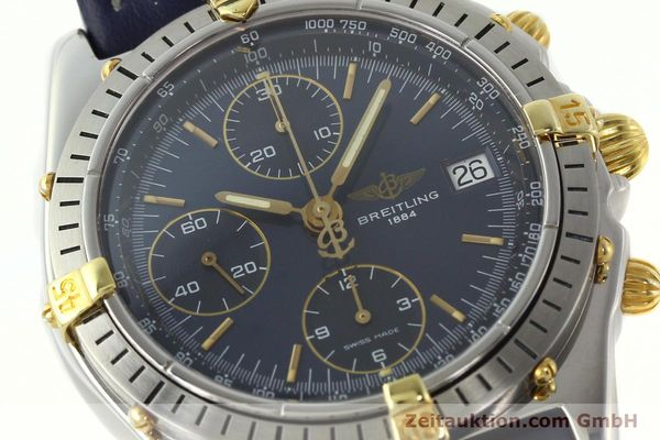 Used luxury watch Breitling Chronomat chronograph steel / gold automatic Kal. B13 ETA 7750 Ref. B13047  | 142062 02