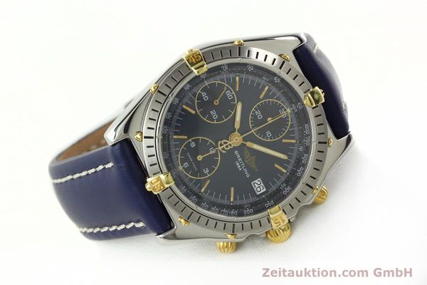 Used luxury watch Breitling Chronomat chronograph steel / gold automatic Kal. B13 ETA 7750 Ref. B13047  | 142062 03