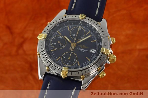 Used luxury watch Breitling Chronomat chronograph steel / gold automatic Kal. B13 ETA 7750 Ref. B13047  | 142062 04