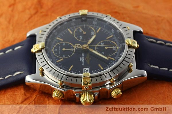 Used luxury watch Breitling Chronomat chronograph steel / gold automatic Kal. B13 ETA 7750 Ref. B13047  | 142062 05