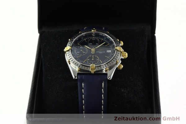 Used luxury watch Breitling Chronomat chronograph steel / gold automatic Kal. B13 ETA 7750 Ref. B13047  | 142062 07