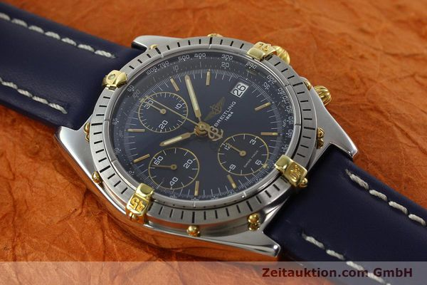 Used luxury watch Breitling Chronomat chronograph steel / gold automatic Kal. B13 ETA 7750 Ref. B13047  | 142062 14