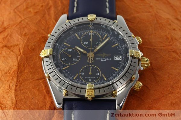 Used luxury watch Breitling Chronomat chronograph steel / gold automatic Kal. B13 ETA 7750 Ref. B13047  | 142062 15