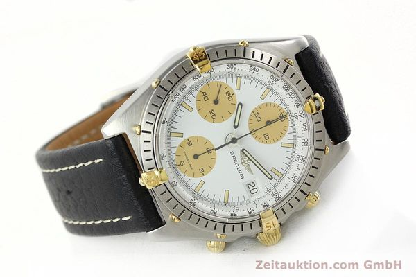 Used luxury watch Breitling Chronomat chronograph steel / gold automatic Kal. VAL 7750 Ref. 81.950  | 142063 03