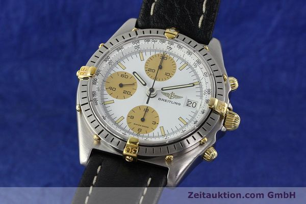 Used luxury watch Breitling Chronomat chronograph steel / gold automatic Kal. VAL 7750 Ref. 81.950  | 142063 04
