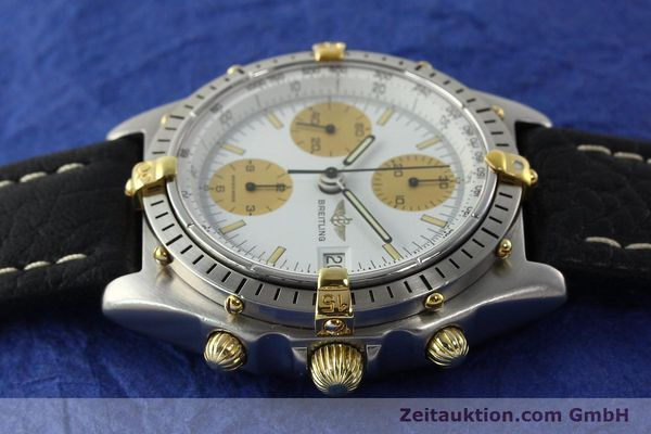 Used luxury watch Breitling Chronomat chronograph steel / gold automatic Kal. VAL 7750 Ref. 81.950  | 142063 05