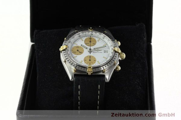 Used luxury watch Breitling Chronomat chronograph steel / gold automatic Kal. VAL 7750 Ref. 81.950  | 142063 07