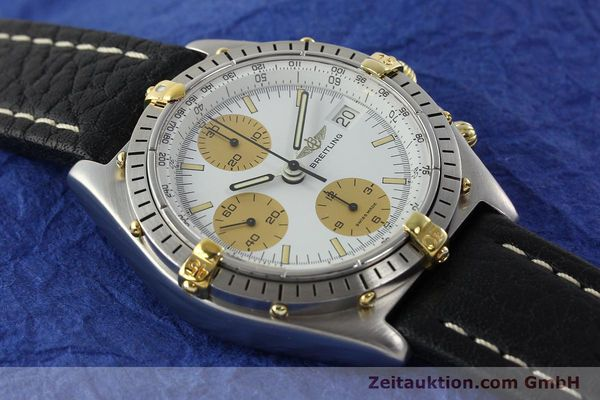 Used luxury watch Breitling Chronomat chronograph steel / gold automatic Kal. VAL 7750 Ref. 81.950  | 142063 12
