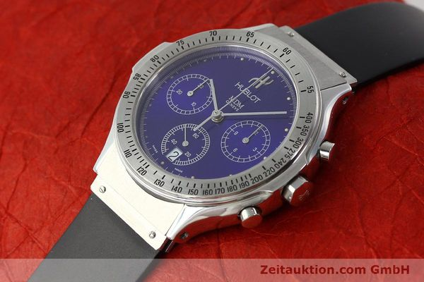 Used luxury watch Hublot MDM chronograph steel quartz Kal. 1270 Ref. 1621.1  | 142064 01