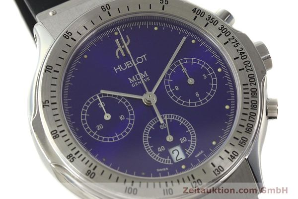 Used luxury watch Hublot MDM chronograph steel quartz Kal. 1270 Ref. 1621.1  | 142064 02