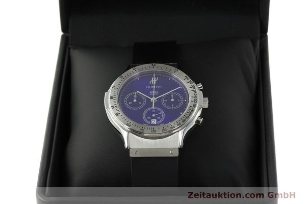 Used luxury watch Hublot MDM chronograph steel quartz Kal. 1270 Ref. 1621.1  | 142064 07
