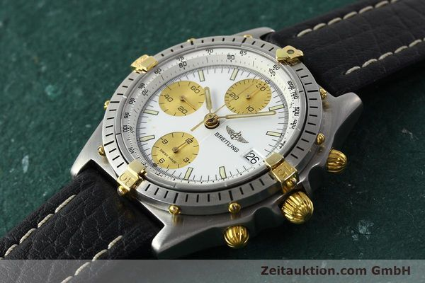 Used luxury watch Breitling Chronomat chronograph steel / gold automatic Kal. VAL 7750 Ref. 81.950  | 142067 01
