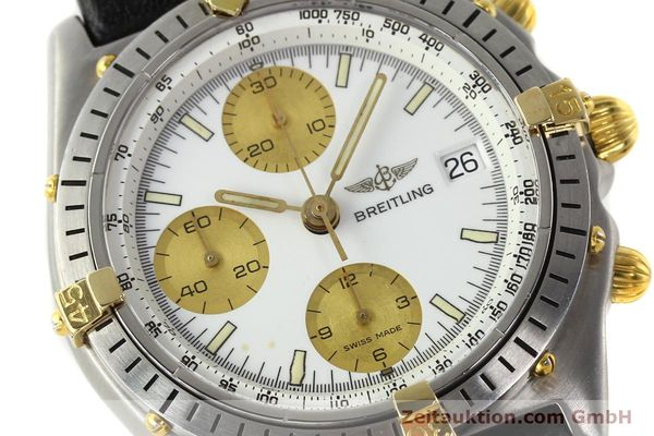 Used luxury watch Breitling Chronomat chronograph steel / gold automatic Kal. VAL 7750 Ref. 81.950  | 142067 02