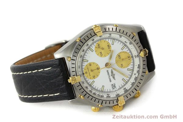 Used luxury watch Breitling Chronomat chronograph steel / gold automatic Kal. VAL 7750 Ref. 81.950  | 142067 03