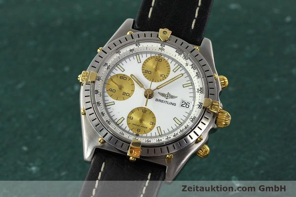 Used luxury watch Breitling Chronomat chronograph steel / gold automatic Kal. VAL 7750 Ref. 81.950  | 142067 04