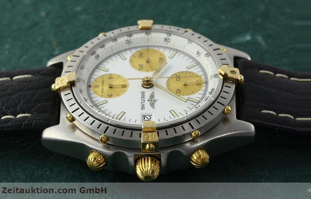 Used luxury watch Breitling Chronomat chronograph steel / gold automatic Kal. VAL 7750 Ref. 81.950  | 142067 05