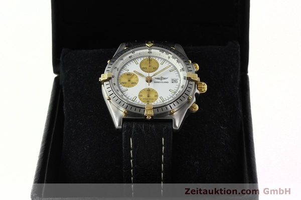 Used luxury watch Breitling Chronomat chronograph steel / gold automatic Kal. VAL 7750 Ref. 81.950  | 142067 07