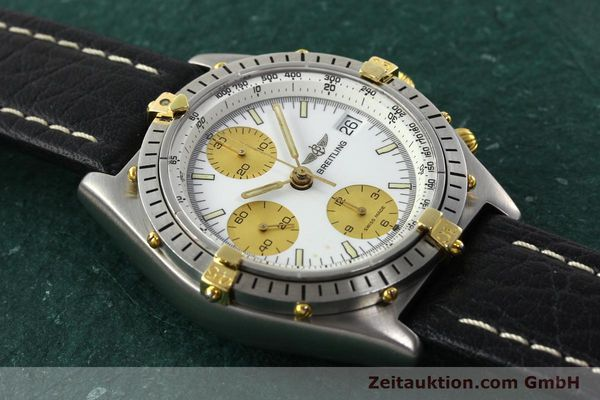 Used luxury watch Breitling Chronomat chronograph steel / gold automatic Kal. VAL 7750 Ref. 81.950  | 142067 11