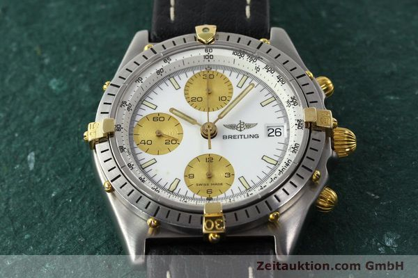 Used luxury watch Breitling Chronomat chronograph steel / gold automatic Kal. VAL 7750 Ref. 81.950  | 142067 12
