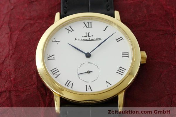 Used luxury watch Jaeger Le Coultre Gentilhomme 18 ct gold manual winding Kal. 818/4 Ref. 152.1.81  | 142070 19